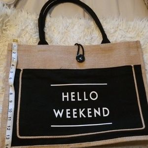 Big hello weekend big